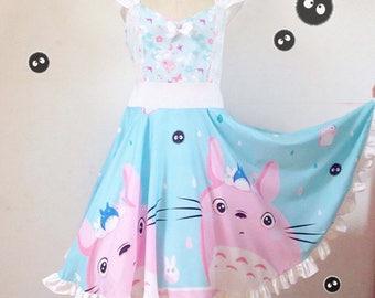 Totoro pin-up dress