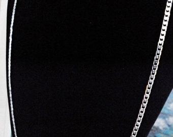 """Chaîne GOURMETTE 18 pouces"""" Argent Sterling 925 **Livraison gratuite au Canada**Free shipping to Canada"""