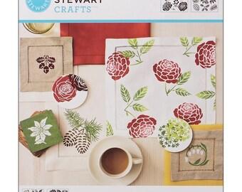 Martha Stewart Crafts® Medium Stencils 2 Sheets-pack - Four Seasons 20 Designs
