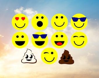 Smile SVG, Poop SVG, Smiley Face SVG