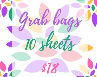 Planner stickers Grab bags