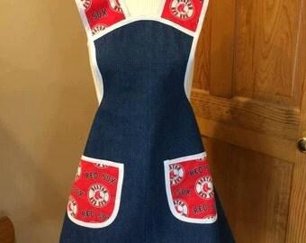 Boston Red Sox apron