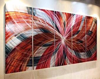 Original Modern Abstract Indoor Outdoor Metal Wall Art. Modern Abstract Original Special Metal Wall Art contemporary art  Metal Art