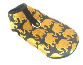 Pet Dog Winter Apperal Clothing Clothes Golden Elephant Harness Coat Jacket XXXS-XL