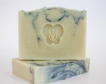 EVERGREEN - Cold Process Organic Soap - Virgin Avocado Oil