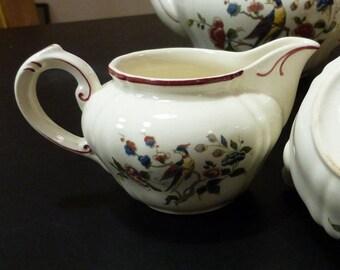Villeroy and Boch Phoenix milk jug or creamer. Vintage 1940s Villeroy and Boch Phoenix jug.
