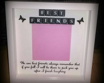best friends photo frame we are best friends always remember