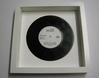 Depeche Mode New Life See You Just Can't Get Enough Get The Balance Right Personal Jesus Barrel Of Gun Famous Iconic Framed Record Gift