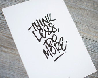 Fresh Handwritten Quote Prints