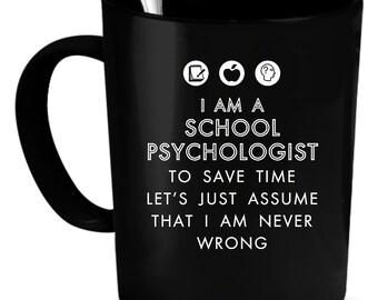 School Psychologist Gift, School Psychologist Coffee Mug, School Psychologist Coffee Cup