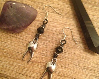 Stainless SWEET TOOTH: earrings