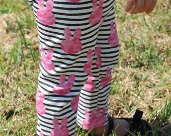 Pink Bunny Leggings