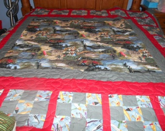 Fishing quilt for all fishermen and woman