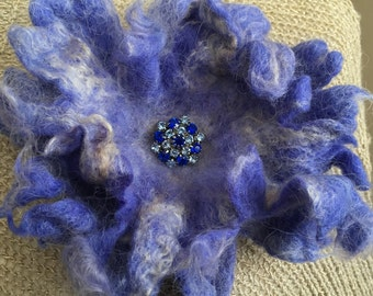 Wool Felted Brooch   Pin