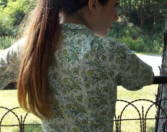 1950's-60's Vintage Floral Dress