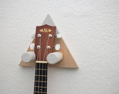 Triangle Ukulele Wall Mount - Any Color!! (Small)