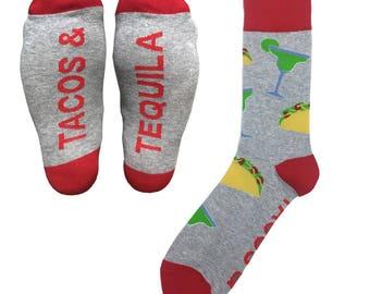 Sock 101 - The Tacos and Tequila Cinco De Mayo Margarita Socks