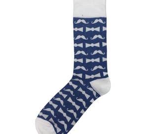 Sock 101 - The Movember Mustache Sock