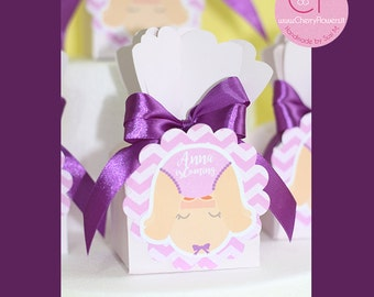 bomboniere Boxes 10 marks place-birth baby shower baptism gift guests