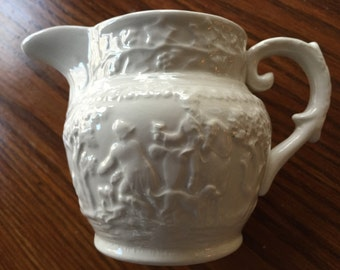 Hunt Club Ironstone Creamer by T.G.Green&Co LTD Made in England-Excellent Condition!