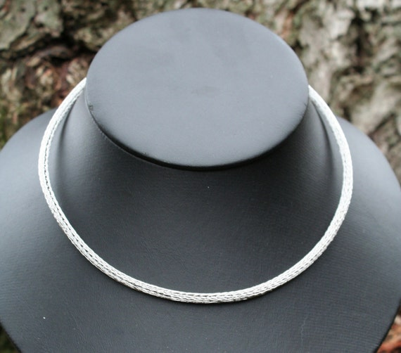 Stainless Steel Viking Knit Necklace (6ddk)