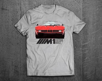 BMW M1 Shirts, BMW t shirts, BMW M series Vintage cars shirts, cars tshirts, german cars shirts, bmw t shirts, men tshirts, women t shirts