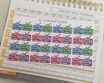 Cable Planner Stickers