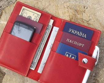 Family passport holder\family travel wallet\Leather family 4,6,8,10 Passport holder\Holds 4 Passports\Monogramed travel wallet\Passport case