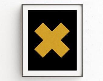 Gold Art for Office, Modern Design Poster, Office Art Gold, Nordic Print Art, Nordic Art Designs, Teen Room Wall Decor, Gold Art for Bedroom