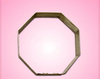 Stop Sign Cookie Cutter