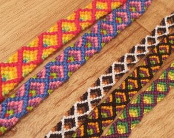 Custom Diamond Friendship Bracelet