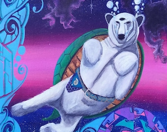 Polar turtle bear