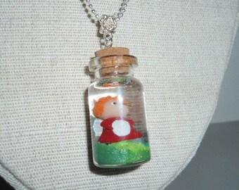 Ponyo in a jar