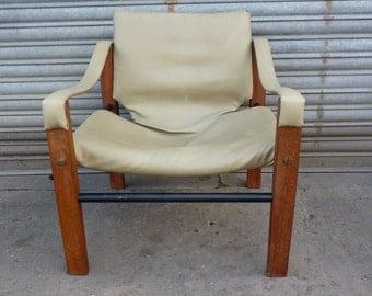 Vintage ARKANA Maurice Burke Safari Chair ARMCHAIR Scotland