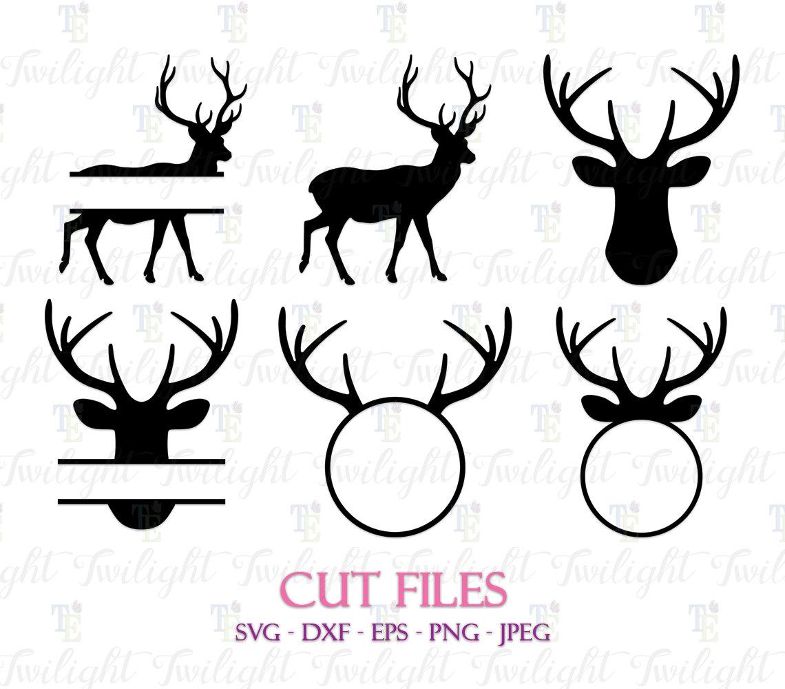 Download Deer Cut Files Deer SVG Cut Files Deer DXF Cut Files Deer