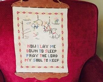 Bedtime Prayer Vintage