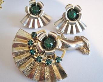 Vintage Pin & Screw Back Earrings
