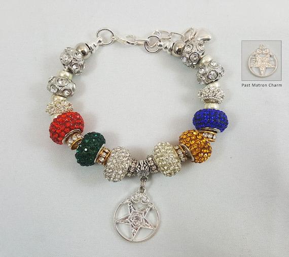 order of the eastern european charm bracelet silver oes