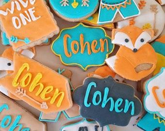 Wild One cookies (12)
