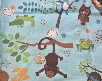 Riley Blake hooty hoot 100% cotton fabric