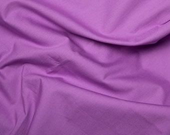 Lotus Purple 100% Cotton Poplin Fabric