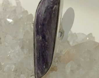 CLEARANCE* Charoite Ring, Size 7