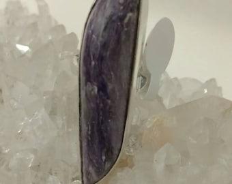 Charoite Ring, Size 7