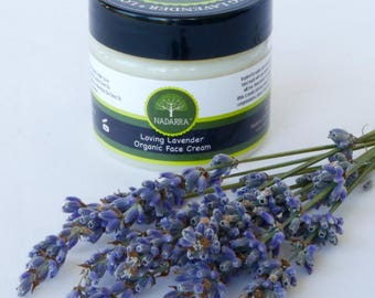 Organic Loving Lavender Face Cream 50ml