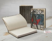 Thor I God of Thunder Hardback Journal 5x7-128 Pages, Comic Art, Vintage, Superhero, Children, Men, Women-Red Blue Black White