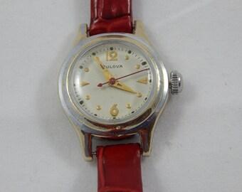 Vintage Bulova Wrist Watch 17 Jewel Swiss Movement Ladies