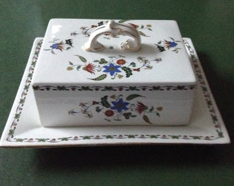 Shelley-England - Covered Butter Dish - Chelsea