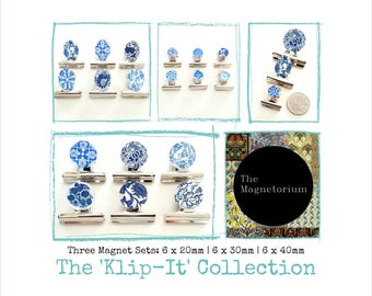 Klip-It Collection - 18 piece Fridge Magnet Set