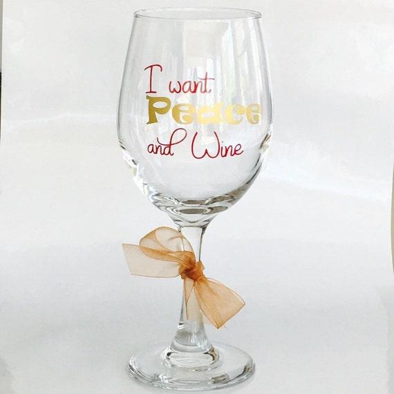 Custom Christmas Wine Glasses Christmas Teacher Personalized