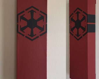 Star Wars Sith Empire Canvas Painting